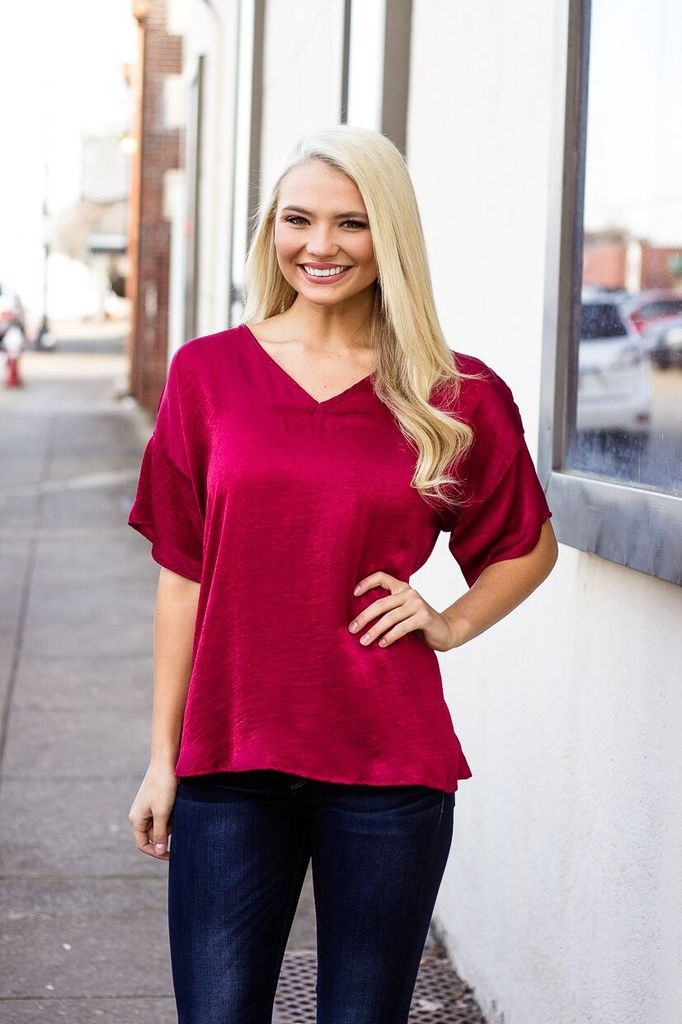 The Avah Oversized Tunic Blouse
