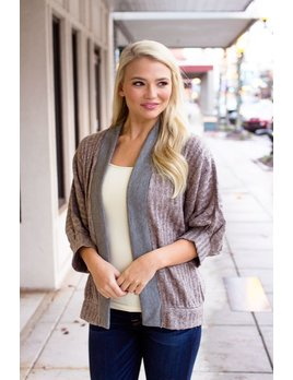 THML Cocoon Sweater Cardigan