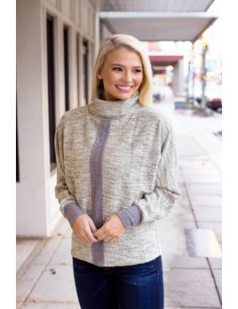 THML Chunky Turtleneck Sweater