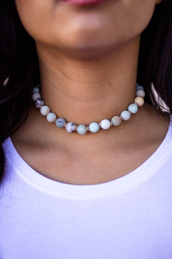 Stone Beads Choker