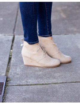 Maybe Baby Lace Up Bootie
