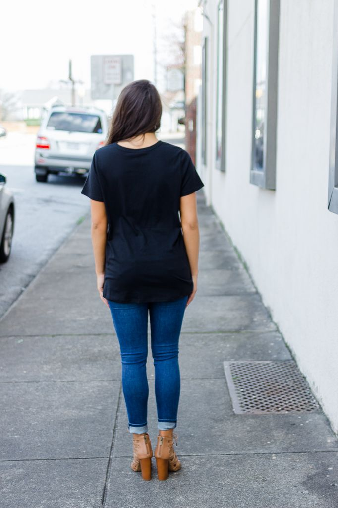 Z Supply The Cut-Out Tee
