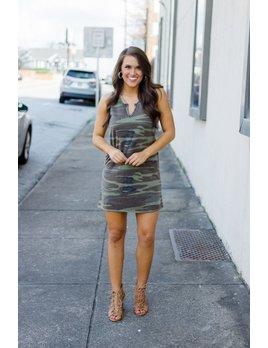 Z Supply The Camo Tank Dress