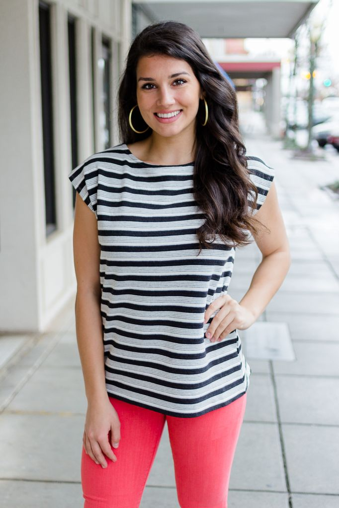 Mar Vista Striped Top