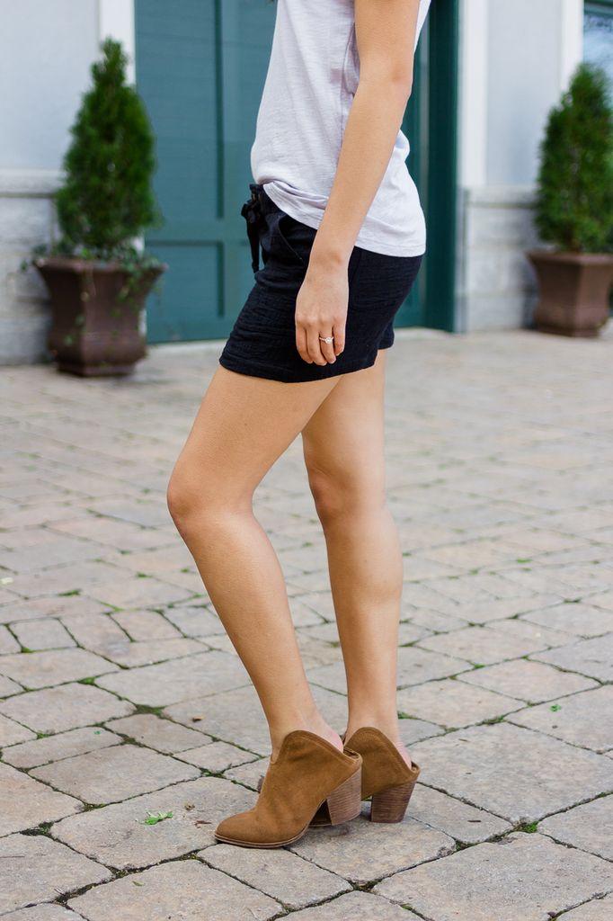 Clemente Linen Blend Shorts