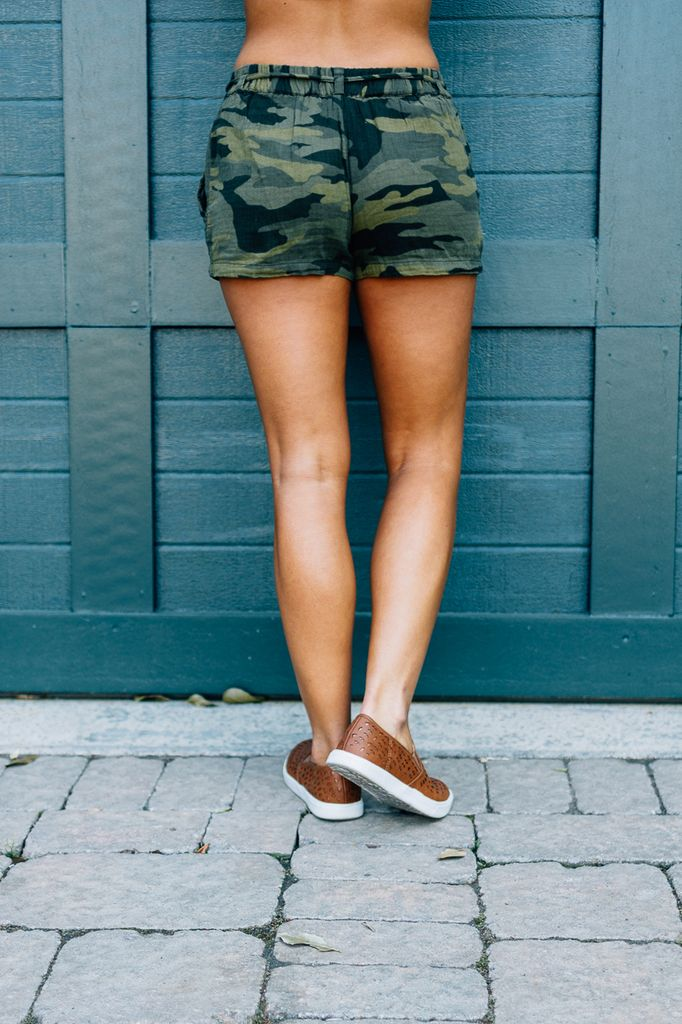 Karlie Camo Pocket Short