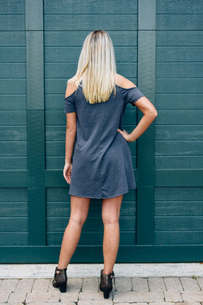 Z Supply The S/S Cold Shoulder Dress