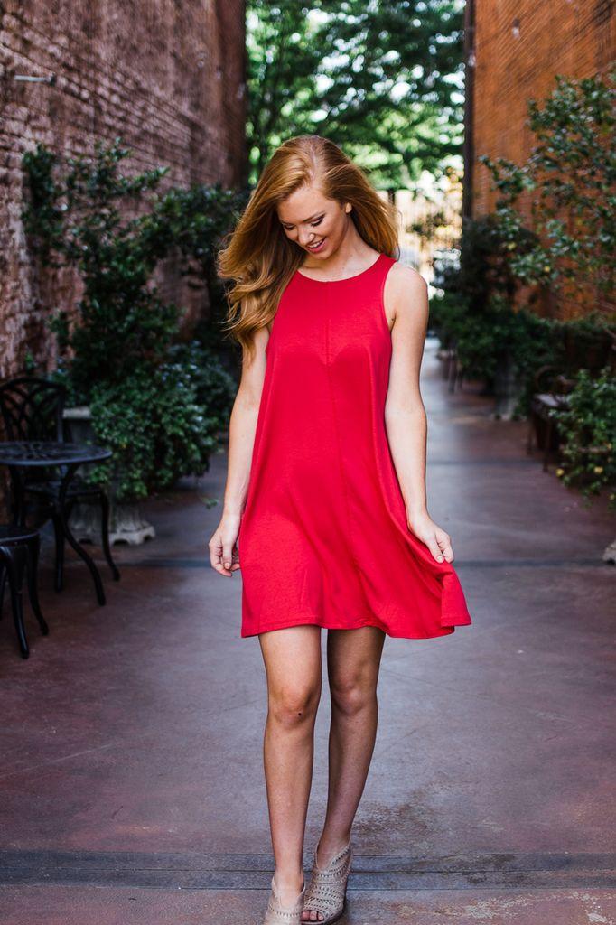 Kayla Knit Tank Dress