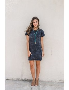 Z Supply The Washed Cotton T-Shirt Dress