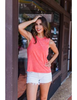 Z Supply The Washed Cotton Muscle Tank