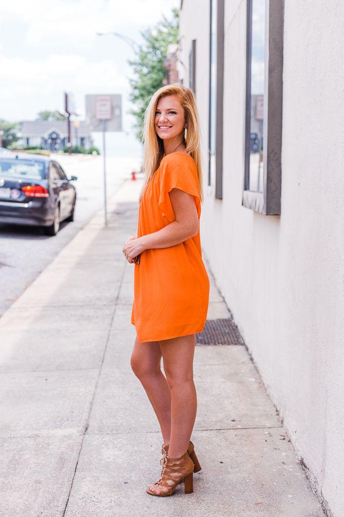 Tassel Front Dress