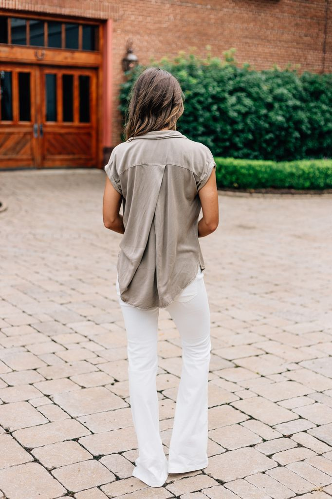 Nico Oversized Button Up Top