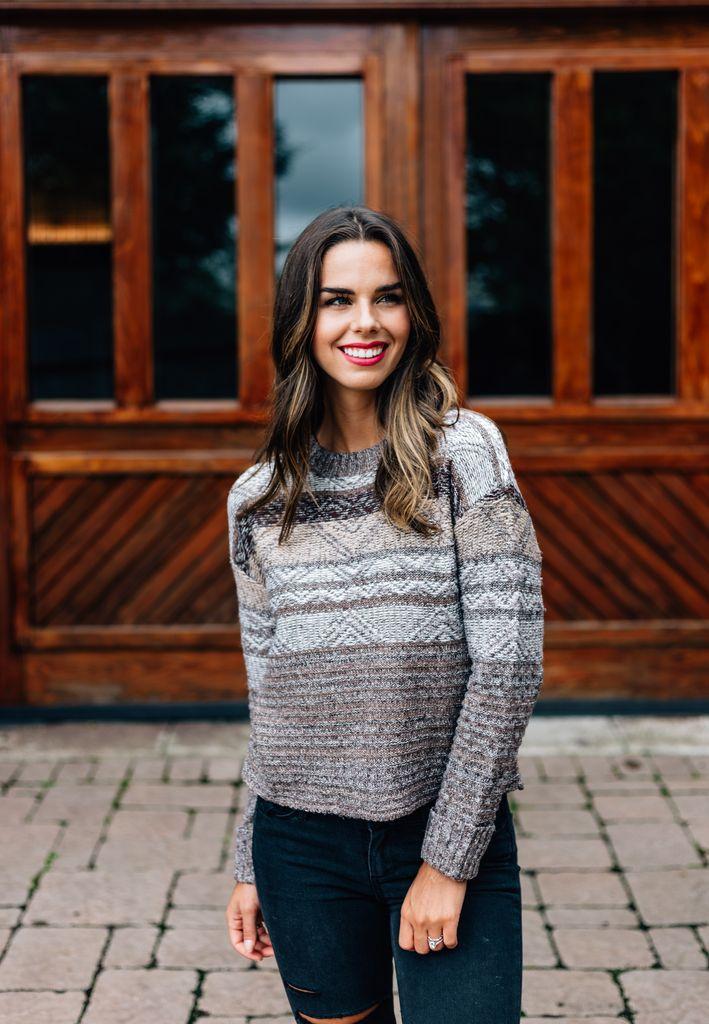 Eileen Striped Sweater