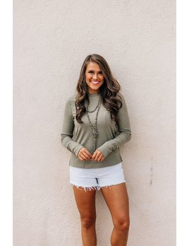 Haylie Ribbed Knit Top