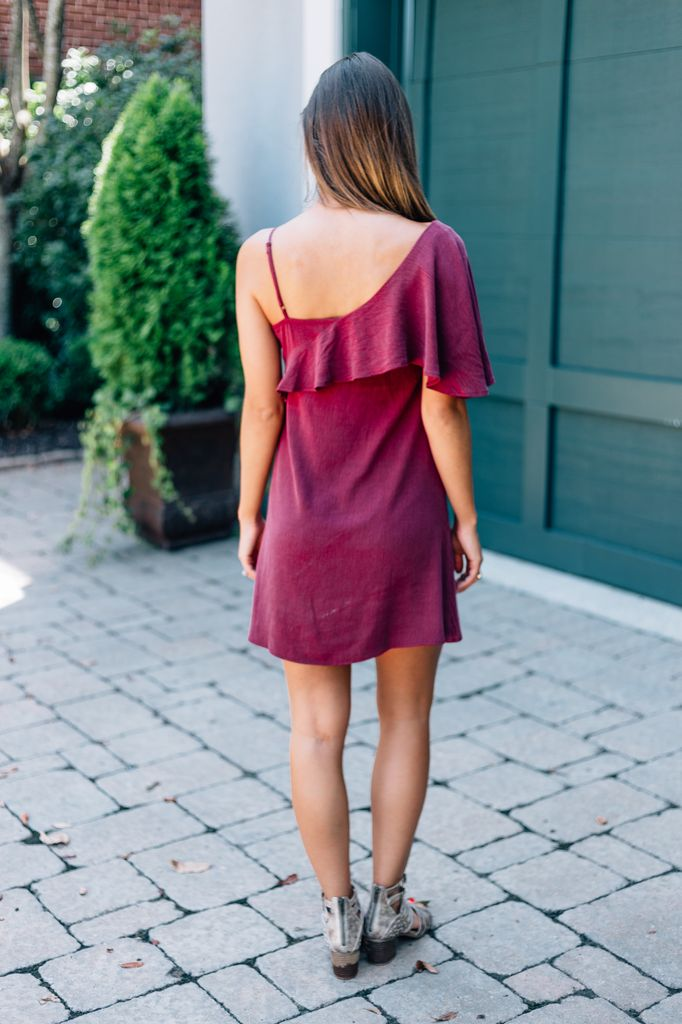 Claudia Ruffle Dress