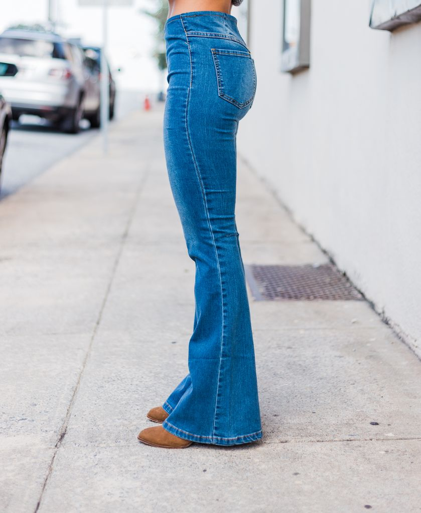 Karlie Denim Pull-On Jean