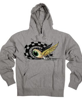 Troy Lee Designs Troy Lee Eyeball Youth Medium Hoodie