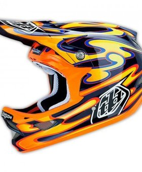 Troy Lee Designs Troy Lee Designs D3 Carbon Squirt Medium Helmet