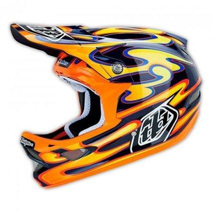Troy Lee Designs Troy Lee Designs D3 Carbon Squirt Medium Helmet