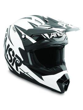 Answer Racing Answer Racing Nova Black/White Youth Small Helmet