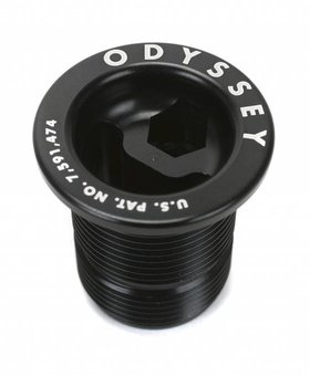 Odyssey Odyssey Pre-Load Black Fork Cap Bolt