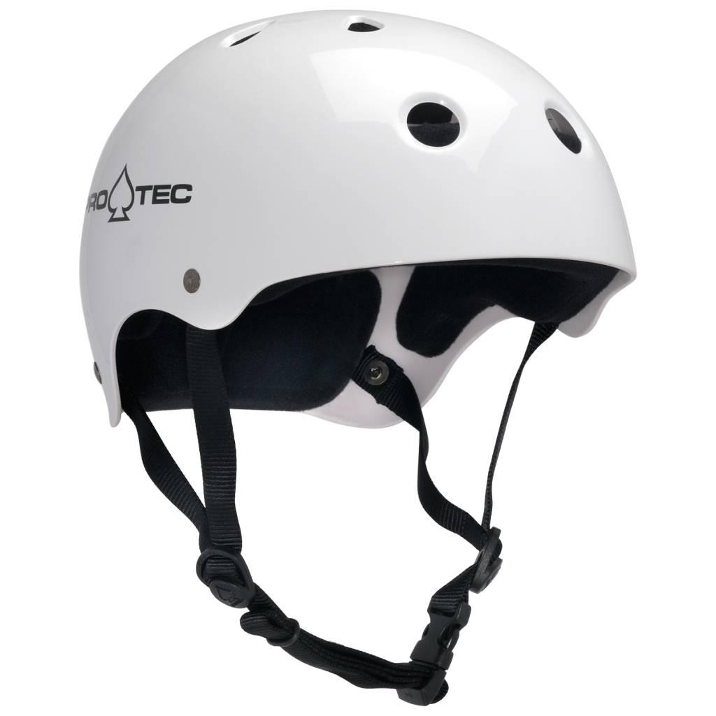 Pro-Tec Pro-tec Classic Skate Gloss White Helmet
