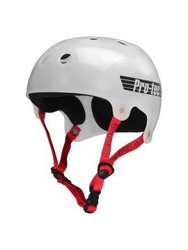 Pro-Tec Pro-tec Classic Bucky Translucent White Helmet