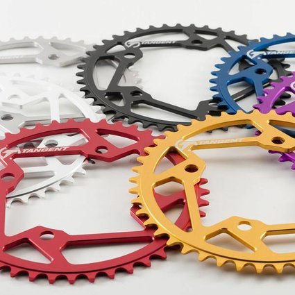Tangent Products Tangent 4-Bolt Blue Chainring