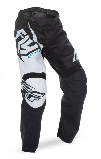 Fly Racing 2017 Fly Racing F-16 Black/White Adult Pants