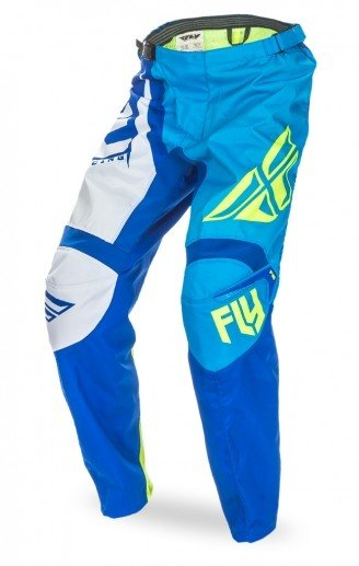 Fly Racing 2017 Fly Racing F-16 Blue/Hi-Vis Adult Pants