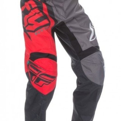 Fly Racing 2017 Fly Racing F-16 Red/Black/Grey Youth Pants