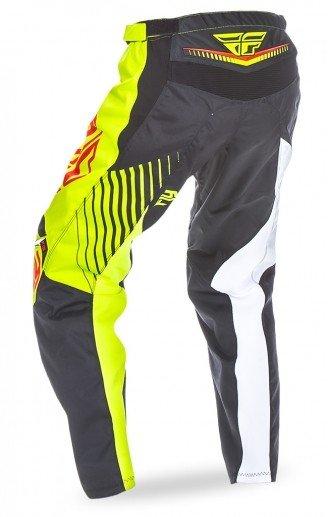 Fly Racing 2017 Fly Racing F-16 Black/Lime Adult Pants