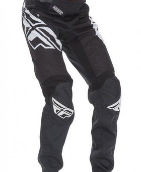 Fly Racing 2017 Fly Racing Kinetic Bicycle Black/White Youth Pants