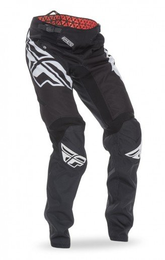Fly Racing 2017 Fly Racing Kinetic Bicycle Black/White Adult Pants