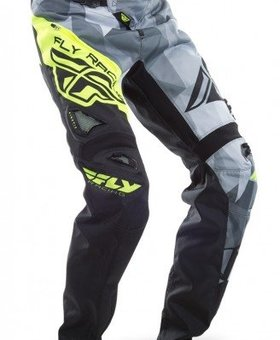 Fly Racing 2017 Fly Racing Kinetic Bicycle Crux Black/Hi-Viz Adult Pants