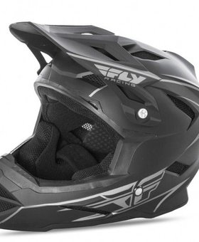 Fly Racing 2018 Fly Racing Default Matte Black Adult Helmet