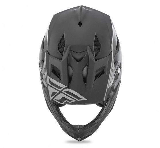Fly Racing 2018 Fly Racing Default Matte Black Adult Helmet