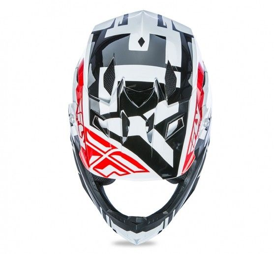 Fly Racing 2018 Fly Racing Default Red/Black/White Youth Helmet