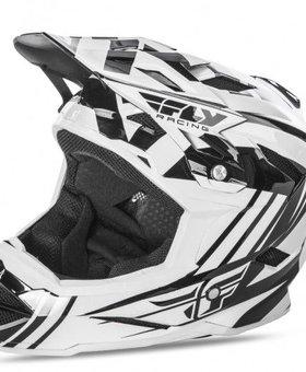 Fly Racing 2018 Fly Racing Dafault White/Black/ Adult Helmet