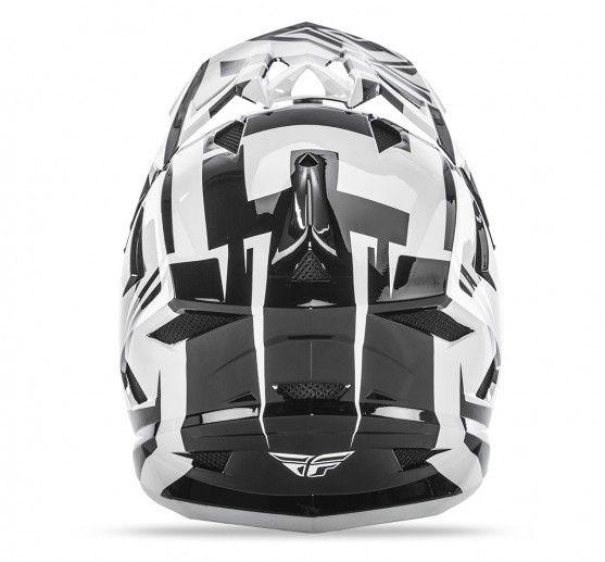 Fly Racing 2018 Fly Racing Default White/Black/ Adult Helmet