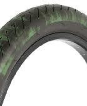 "Fit 20x2.3"" Fit T/A Black w/Green Brush Tire"