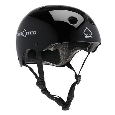 Pro-Tec Pro-tec Classic (Certified) Gloss Black Helmet