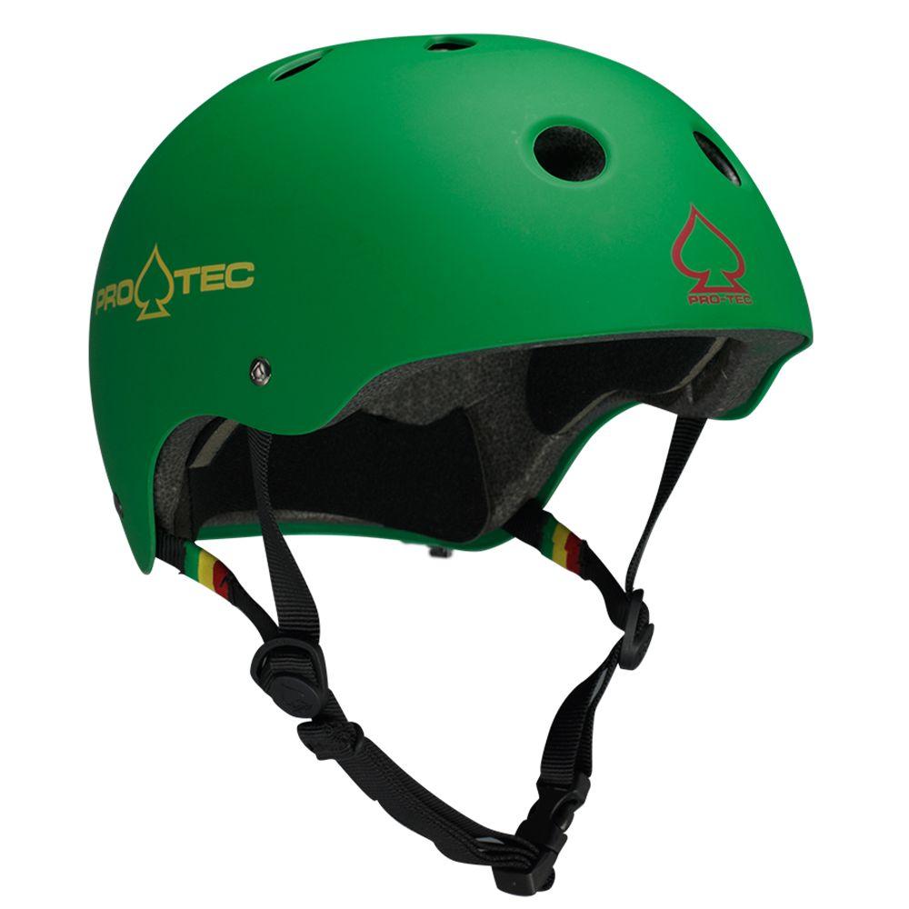Pro-Tec Pro-Tec Classic Cert Matte Rasta Green XS Helmet