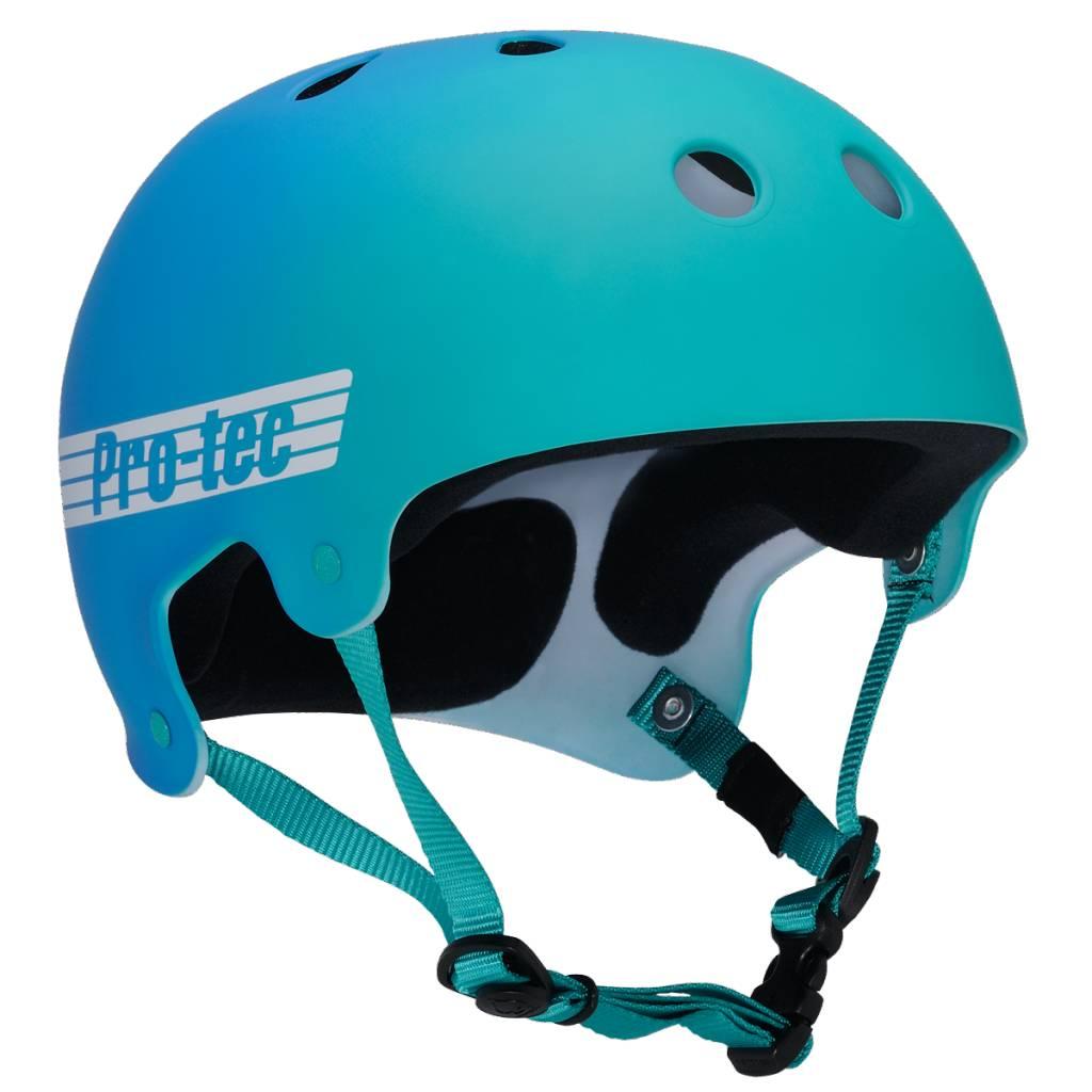 Pro-Tec Pro-tec Classic Bucky Teal/Blue Fade Helmet