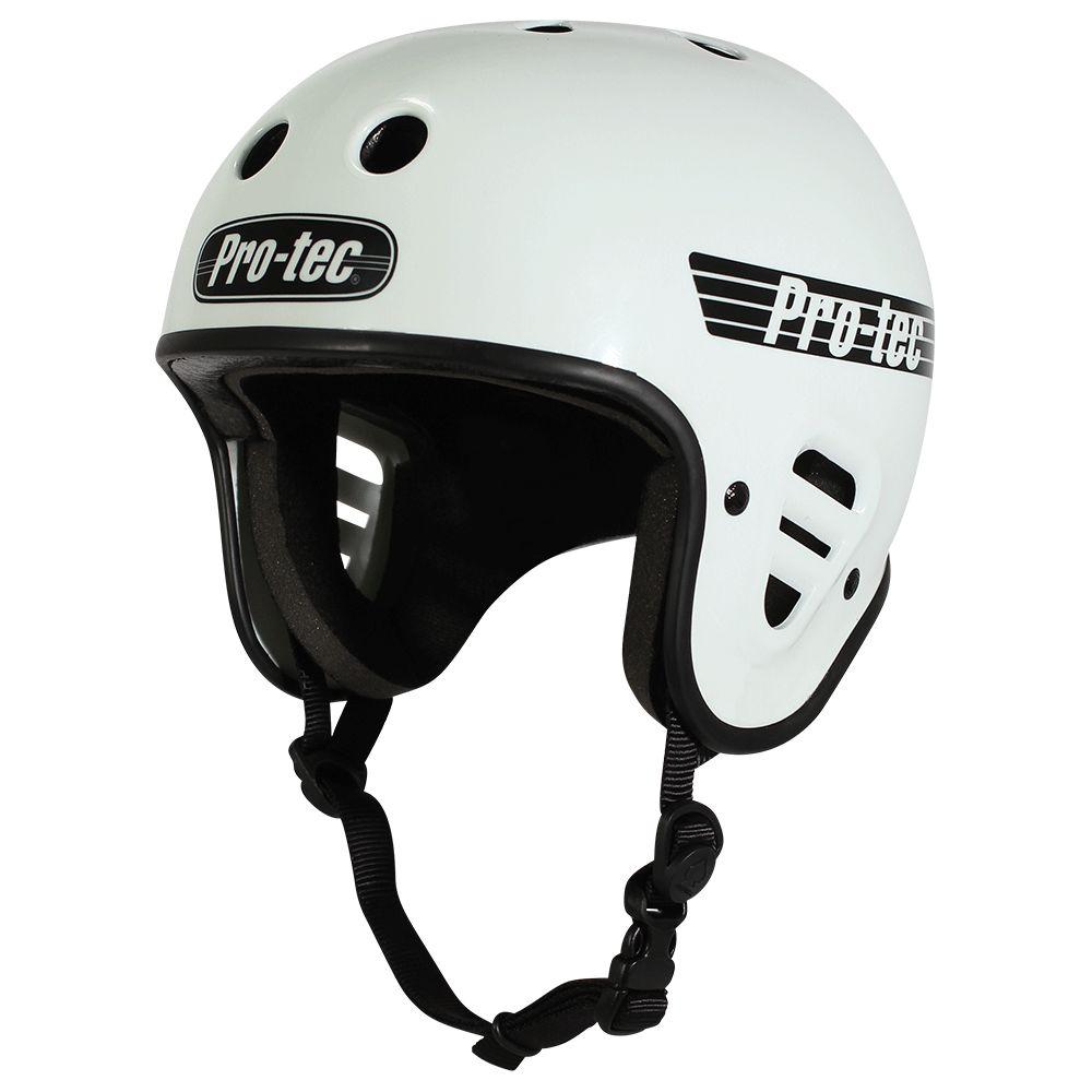 Pro-Tec Pro-tec Fullcut (Certified) Gloss White Helmet
