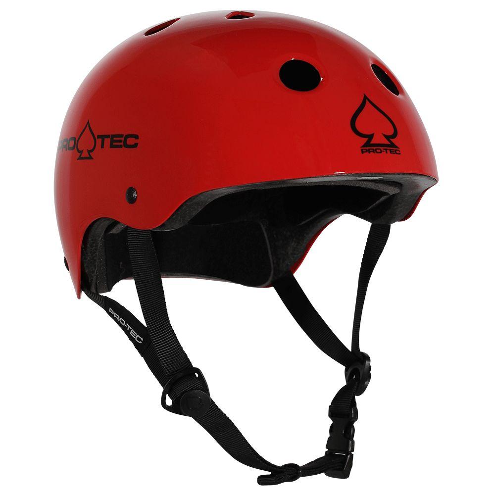 Pro-Tec Pro-tec Classic (Certified) Gloss Red Helmet