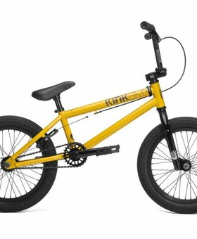"Kink 2018 Kink Carve 16"" Bike Gloss Olympic Yellow"