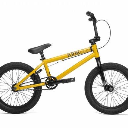 "Kink 2018 Kink Carve 16"" Bike Gloss Olympic Yellow"