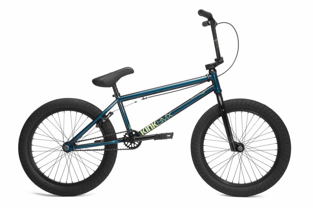 Kink 2018 Kink Gap XL Bike Gloss Stang Teal Edge Fade