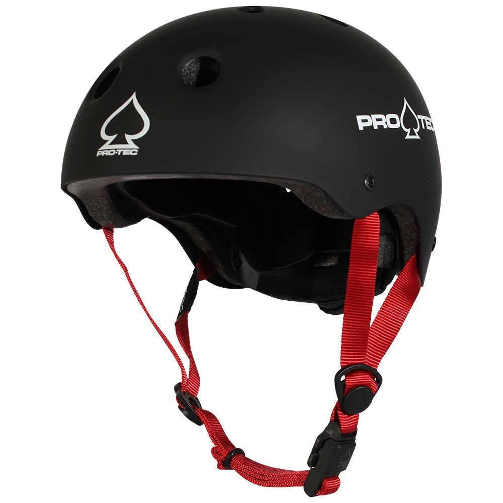 Pro-Tec Pro-tec Jr Classic (Certified) Matte Black Helmet
